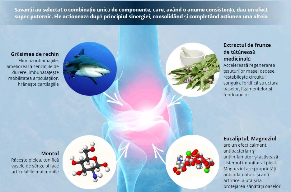 Cumpara grasimi de rechin pentru dureri articulare